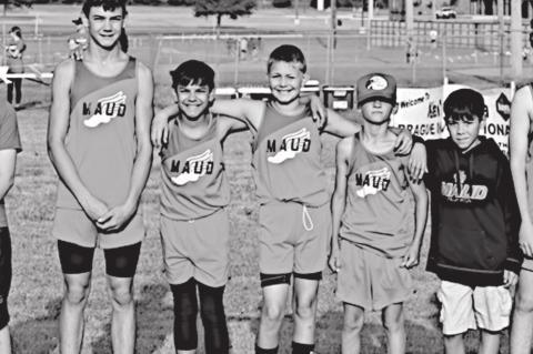Maud Cross Country Team