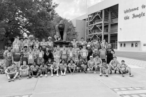 Seminole Chieftains Attend Camp at Pittsburg, Kansas