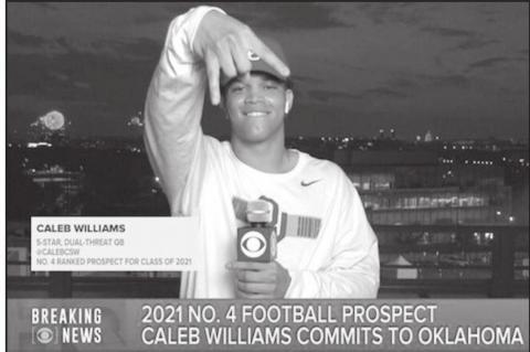 OU Football Gets 5 Star Commit Caleb Williams