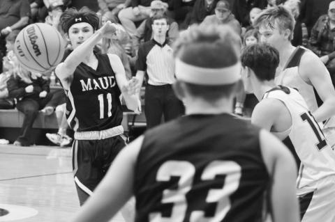 Maud Tigers Fall Short at Asher Tuesday