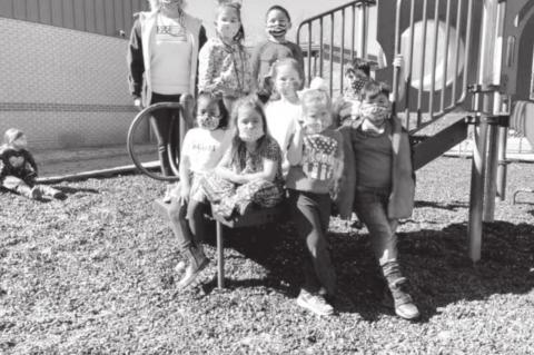 Students from Betty L. Smith Early Childhood Center