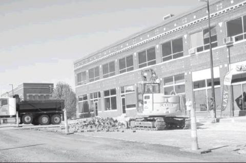 Bye, Bye Bricks                                —Photo by Crystal Quillin                                The city of Seminole has been removing the historic bricks from portions of the downtown area to make way for asphalt to be laid down by