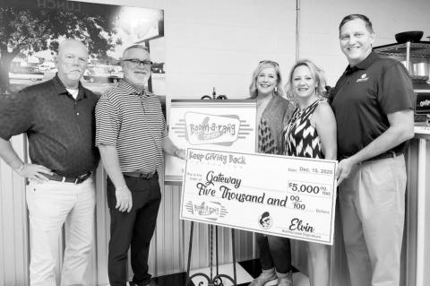 Two Local Restaurant Chains Each Donate $5,000 to Gate to Prevention And Recovery