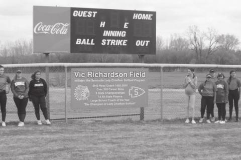 Vic Richardson Field Dedication