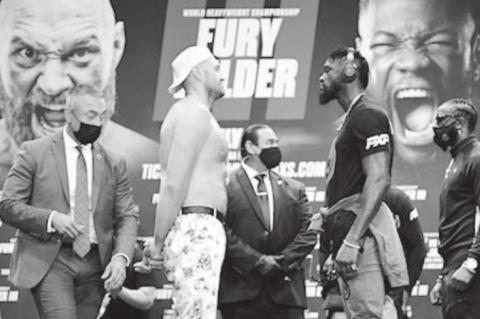 Tyson-Wilder Fight Postponed Due to COVID