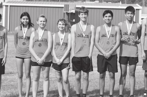 Yellowjacket Cross Country Team