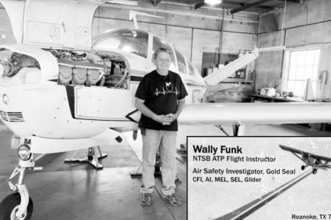 Long And Winding Trip to Space Included Seminole Detour For Astronaut Wally Funk