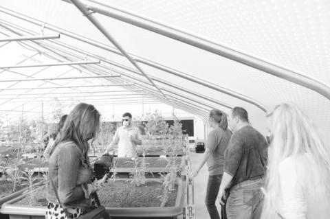 The Seminole Nation Division of Commerce Opens Aquaponics Facility