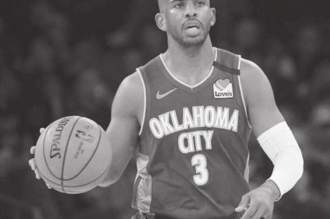 Chris Paul Named to All-NBA Second Team
