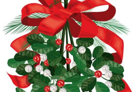 What's the History Behind Kissing Under Mistletoe?