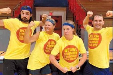 Baptist Collegiate Ministry hosts Dodgeball Tournament at SCC