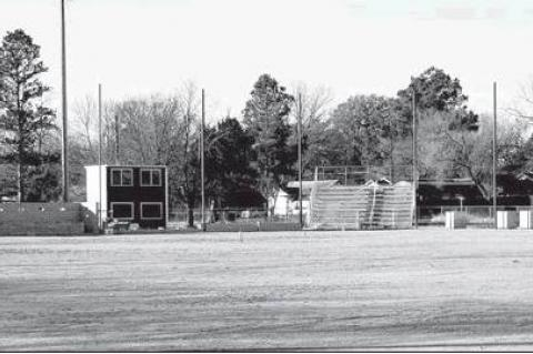 —Courtesy Photo                                A view of the Wewoka Lions Baseball Field, which is nearing completion. The Lions Club has operated the Little League baseball program in Wewoka for 70 years.