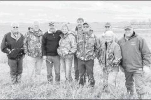Ducks Unlimited Hosts Event for ODWC Commissioners