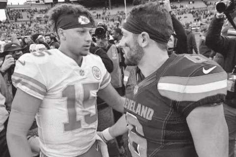 Mayfield Faces Mahomes in Playoffs