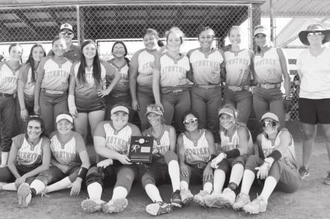 Strother Fast Pitch Softball Team District Champs After 3 Shutouts