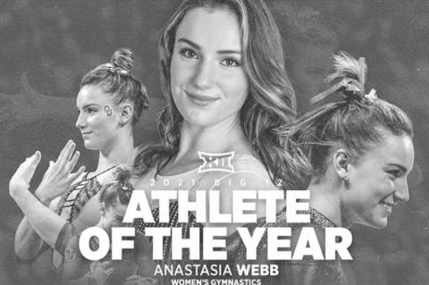 Webb Named Big 12 Female Athlete of the Year