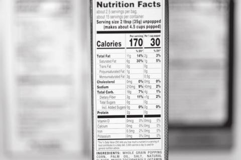What's in a serving? Nutrition Facts labels get an update