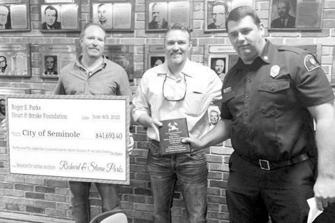Foundation Makes Life-saving Donation to City of Seminole