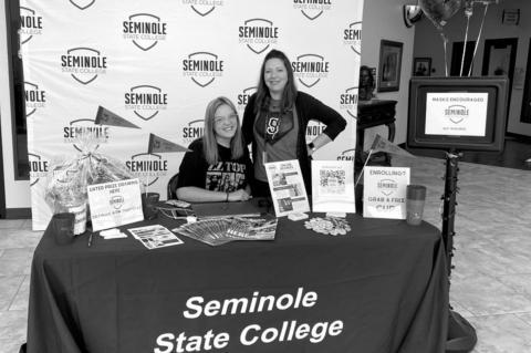 Seminole State College sophomore Jenna Harrison