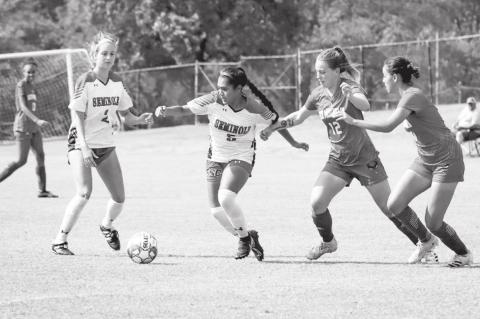 Seminole State Ladies Soccer Blanks Rich Mountain