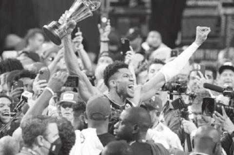 Giannis Helps Buck's Win 1 st Title Since 1971