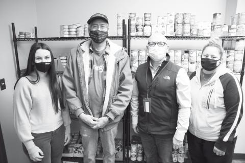 Wrangler/Kontoor Makes Donation to SSC Food Pantry