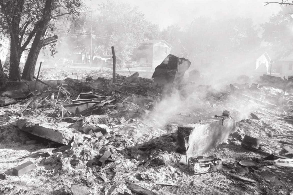 Homes Destroyed by Fire