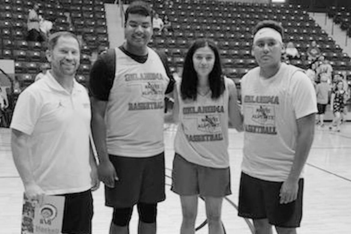 Varnum Athletes Compete at Native All-State Game